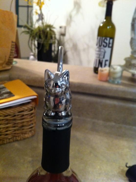Cat Wine Bottle Stopper